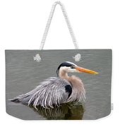 Great Blue Heron 3 Weekender Tote Bag