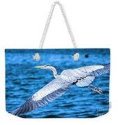 Great Blue Heron Flight Weekender Tote Bag