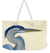 Great Blue Heron Portrait Weekender Tote Bag