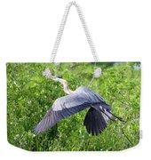 Great Blue Heron Takeoff Weekender Tote Bag