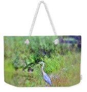 Great Blue Heron Visitor Weekender Tote Bag