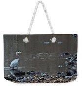 Great Blue Heron Wading 1 Weekender Tote Bag