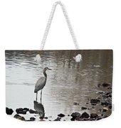 Great Blue Heron Wading 2 Weekender Tote Bag