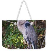 Great Blue Just Chillin' Weekender Tote Bag