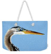 Great Blue Walter Weekender Tote Bag