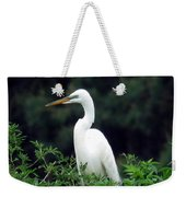 Great Egret 19 Weekender Tote Bag