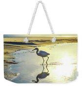 Great Egret Weekender Tote Bag