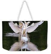 Great Egret Ballet Weekender Tote Bag