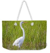 Great Egret In The Spring  Weekender Tote Bag
