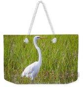 Great Egret In The Spring  Weekender Tote Bag