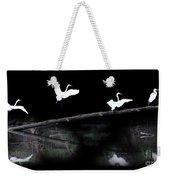 Great Egret Montage Weekender Tote Bag