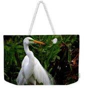 Great Egret Nesting Weekender Tote Bag