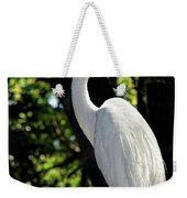 Great Egret Up Close Weekender Tote Bag