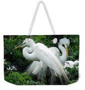 Great Egrets 10 Weekender Tote Bag