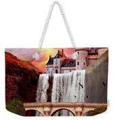 Great Falls Castle Weekender Tote Bag