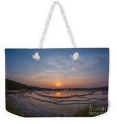 Great Fountain Geyser Sunset  Weekender Tote Bag