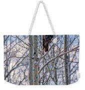 Great Grey Owl Weekender Tote Bag