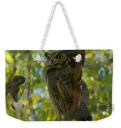Great Horned Majesty Weekender Tote Bag