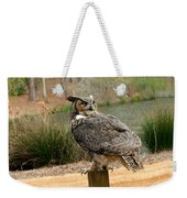 Great Horned Owl 1 Weekender Tote Bag