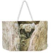 Great Horned Owl Chick Weekender Tote Bag