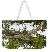 Great Horned Owl Takeoff Weekender Tote Bag