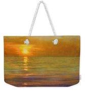 Great Lakes Setting Sun Weekender Tote Bag