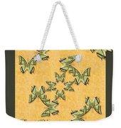 Great Nawab Butterfly Wheel Weekender Tote Bag