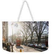 Great Russell St. In The Afternoon Weekender Tote Bag