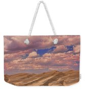 Great Sand Dunes And Great Clouds Weekender Tote Bag