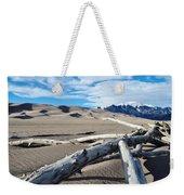 Great Sand Dunes National Park Driftwood Landscape Weekender Tote Bag