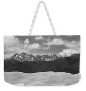 Great Sand Dunes Panorama 1 Bw Weekender Tote Bag by James BO  Insogna