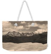 Great Sand Dunes Panorama 1 Sepia Weekender Tote Bag