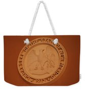 Great Seal Of The State Of New Mexico 1912 Weekender Tote Bag