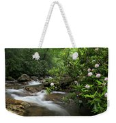 Great Smoky Mountains Rosebay Rhododendron Weekender Tote Bag