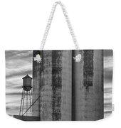 Great Western Sugar Mill Longmont Colorado Bw Weekender Tote Bag