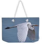 Great White Flight Weekender Tote Bag