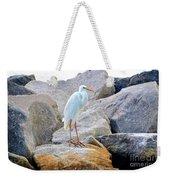 Great White Heron Of Florida Weekender Tote Bag