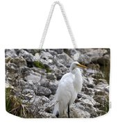 Great White Heron Race Weekender Tote Bag