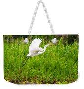Great White Heron Takeoff Weekender Tote Bag