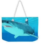 Great White Shark Close-up Weekender Tote Bag