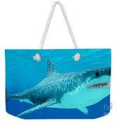 Great White Shark Undersea Weekender Tote Bag