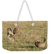 Greater Prairie Chicken Males 2 Weekender Tote Bag