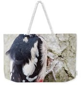 Greater Spotted Woodpecker Weekender Tote Bag