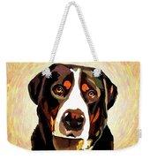 Greater Swiss Mountain Dog Weekender Tote Bag