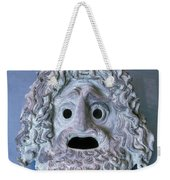 Greece: Theatrical Mask Weekender Tote Bag