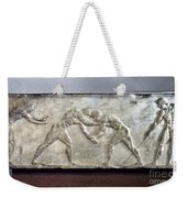 Greece: Wrestlers Weekender Tote Bag