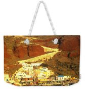 Greek Fishing Town Weekender Tote Bag