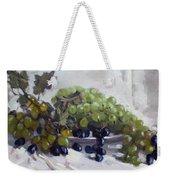 Greek Grapes Weekender Tote Bag