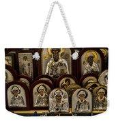 Greek Orthodox Church Icons Weekender Tote Bag