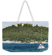 Greek Orthodox School And The Sea Of Marmara Weekender Tote Bag